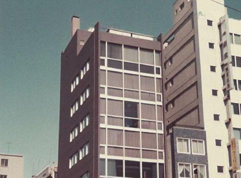 丸八銀座ビル外観(竣工時)